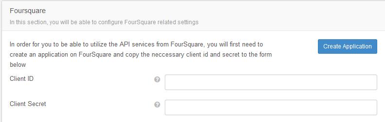 EasySocial Location Services FourSquare