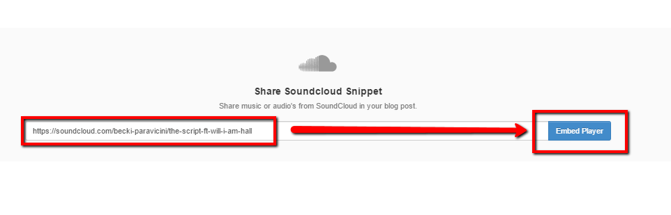 SoundCloud block
