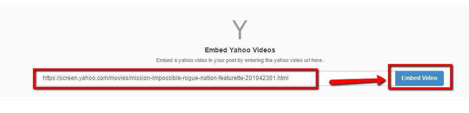 Yahoo Screen