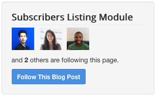 Subscriber Listing Module