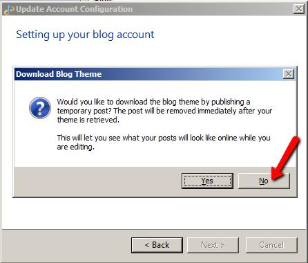 Setting Default editor
