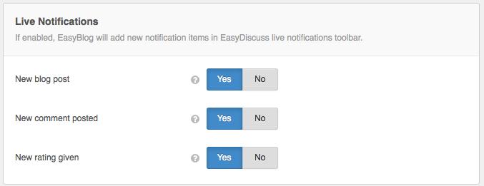 EasyDiscuss Settings