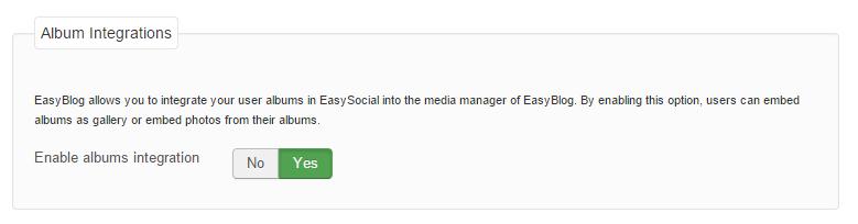 EasySocial integration