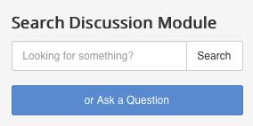 Search Discussion Module