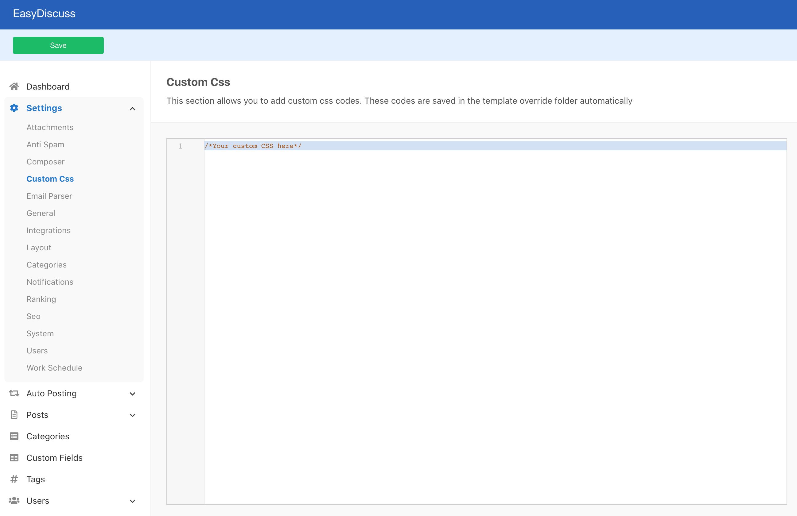 CSS Overrides