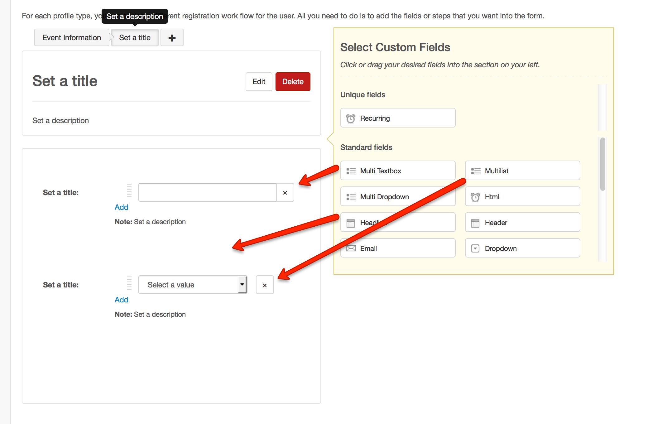Adding Custom Fields in EasySocial