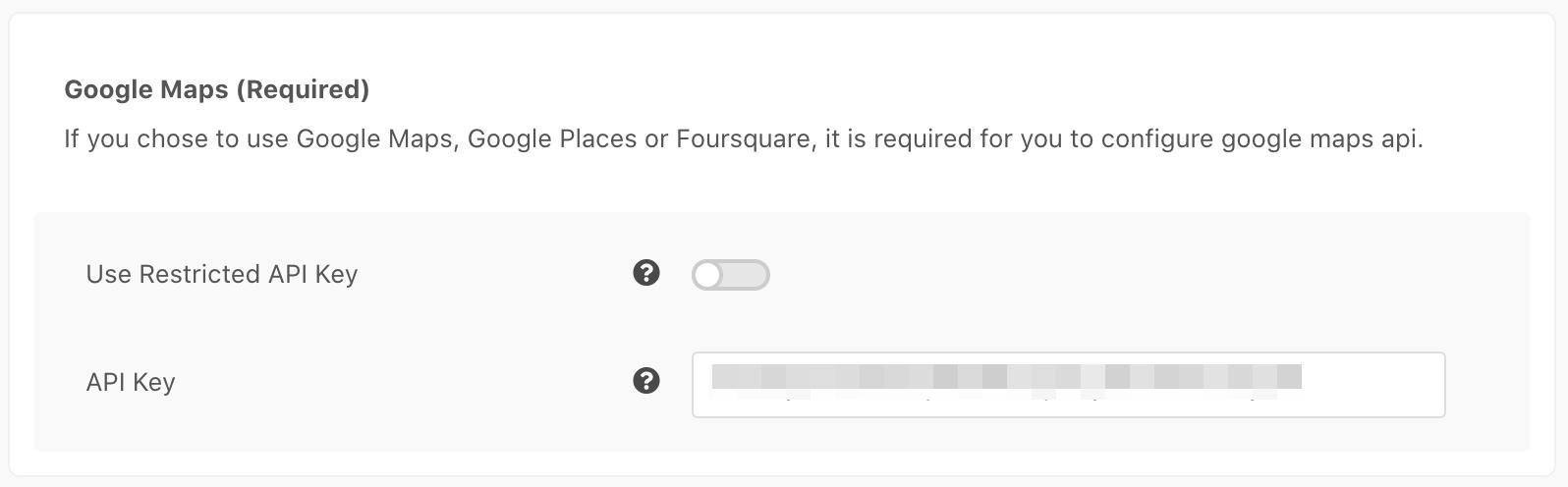 EasySocial Location Services Google Map