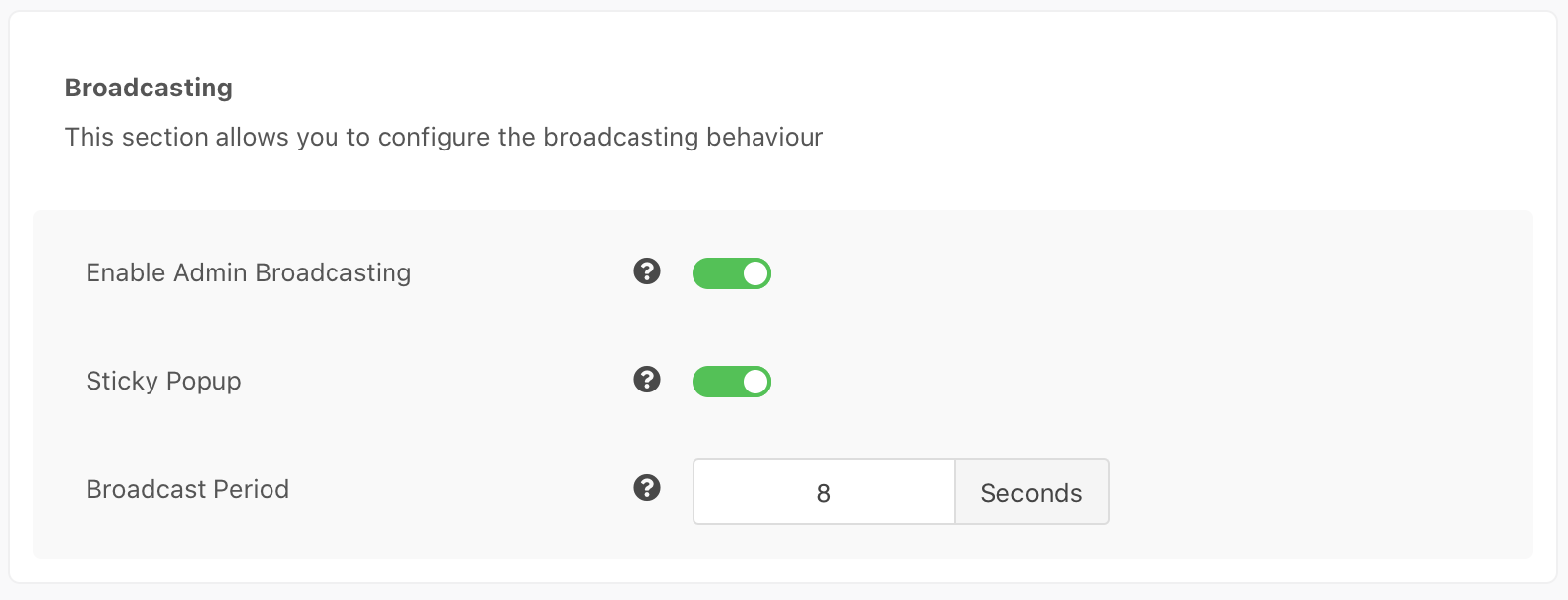 EasySocial Notification Broadcasting