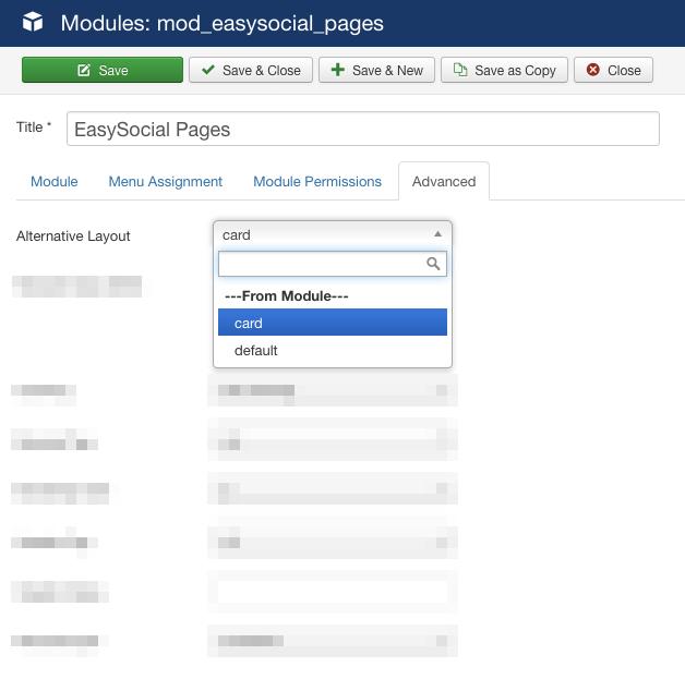 Page Module