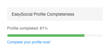 Profile Completeness Module