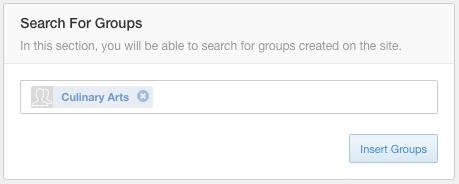 Profile Groups