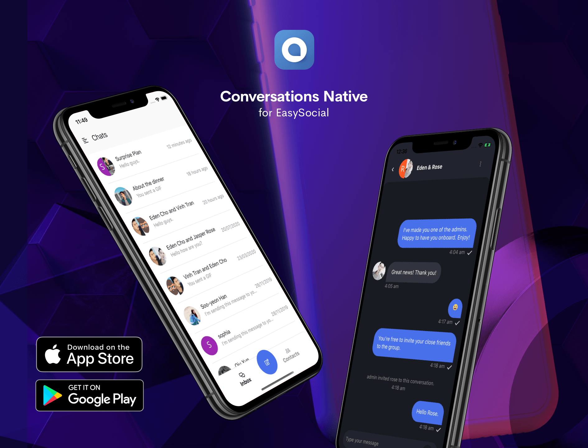 Conversations Native App v1.2 Available Now