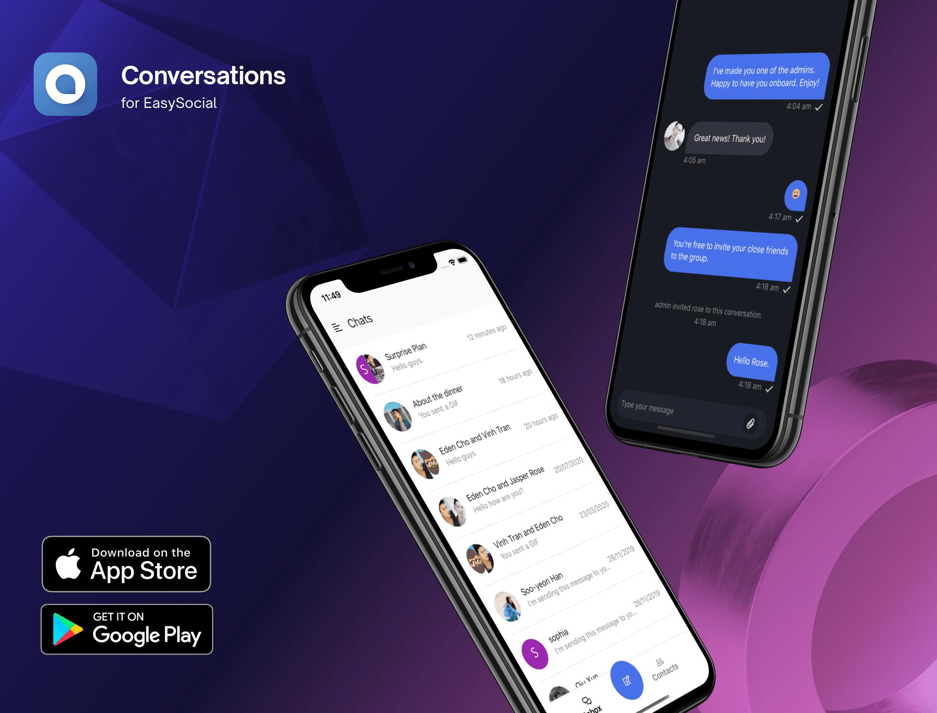 Conversations App v2.1