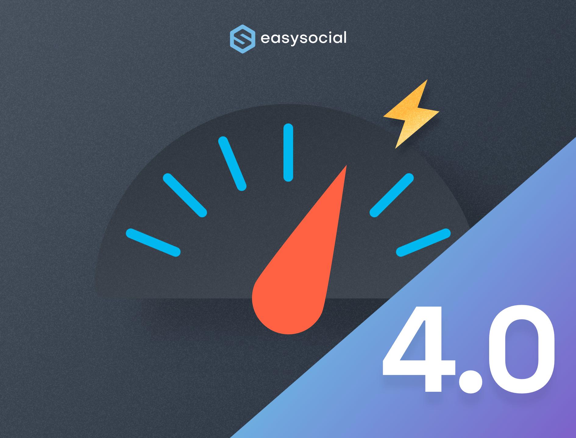 EasySocial 4.0 RC 1 - Massive Performance Improvements & Bug Fixes