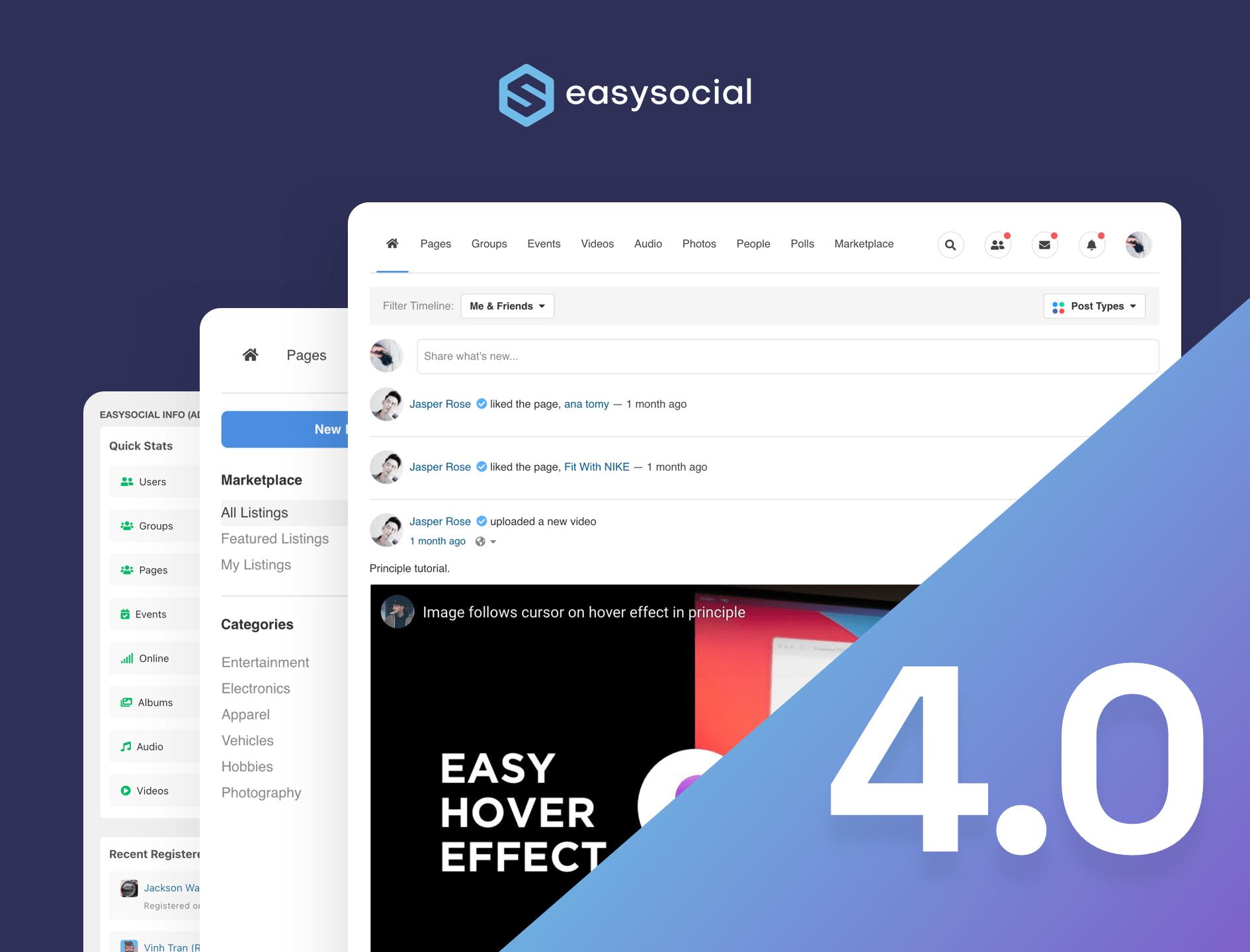 EasySocial 4.0 RC 2