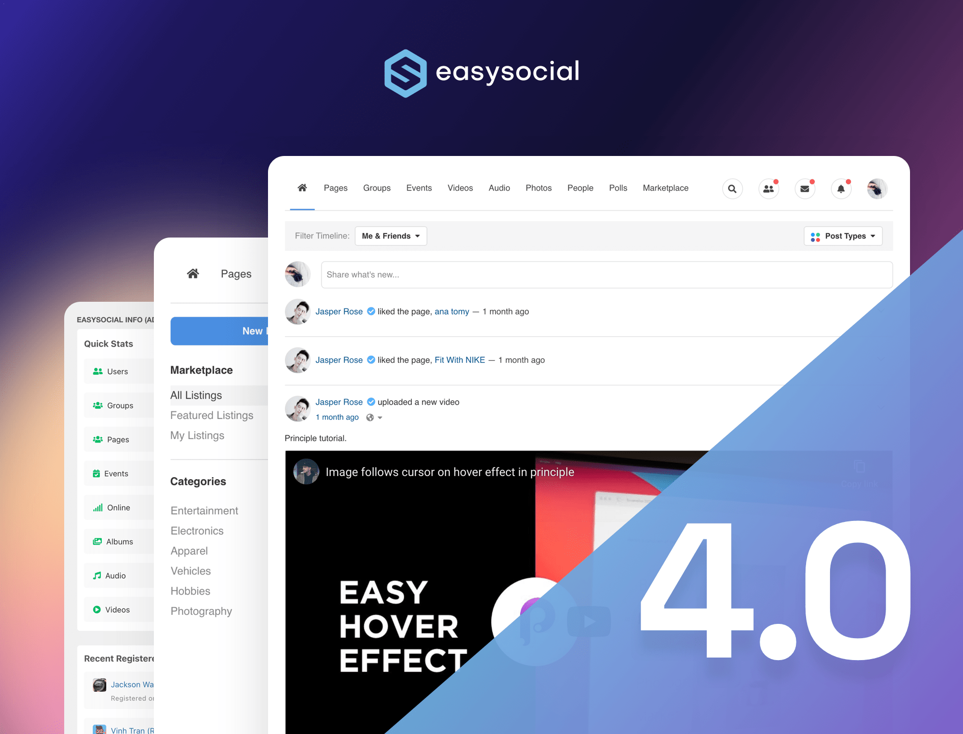 EasySocial 4.0.1 Released