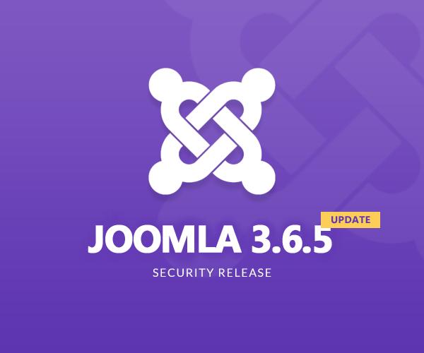 Security release for Joomla 3.6.5