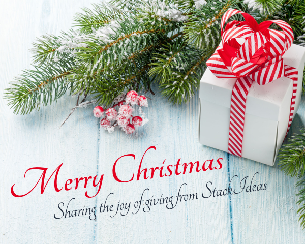 Celebrate Christmas with StackIdeas