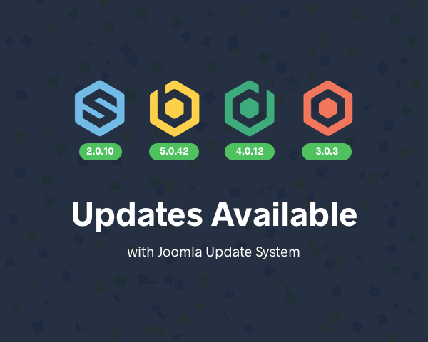 Joomla Update System on our extensions
