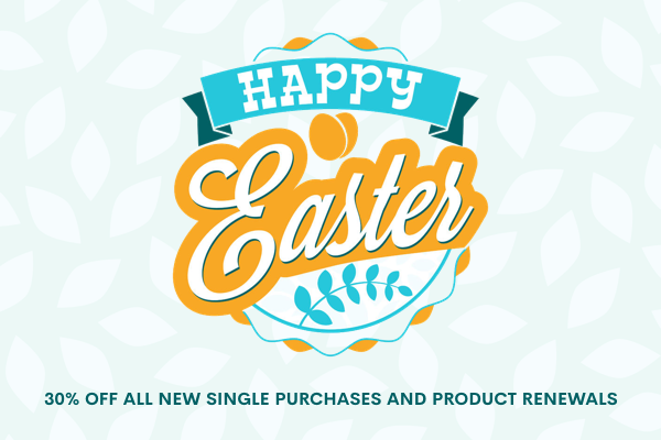 Celebrate Easter day with us and get 30% off