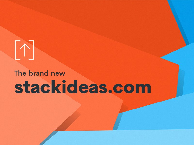 Brand New Look For StackIdeas