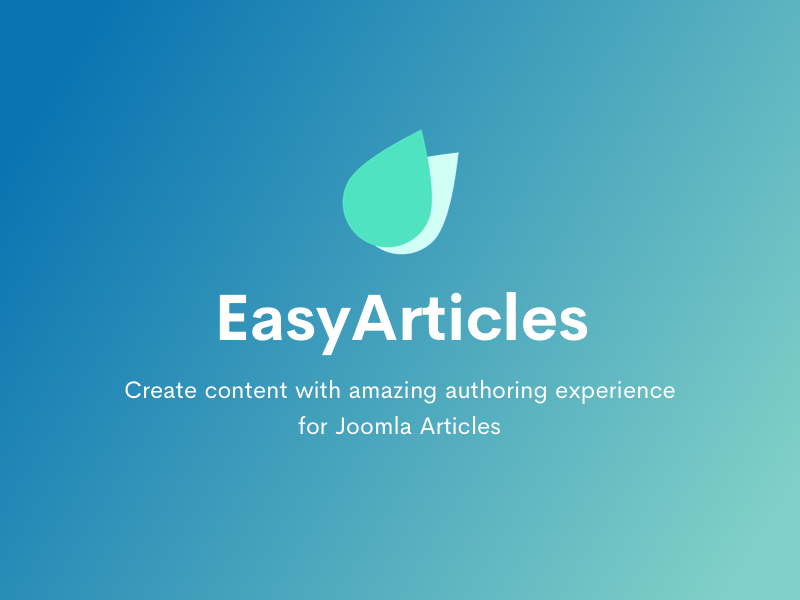 Introducing EasyArticles