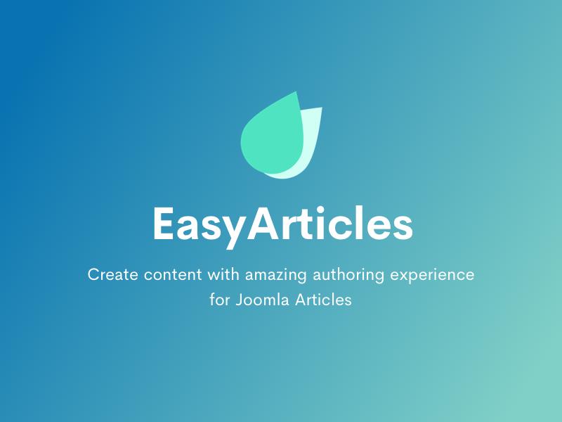 Introducing EasyArticles