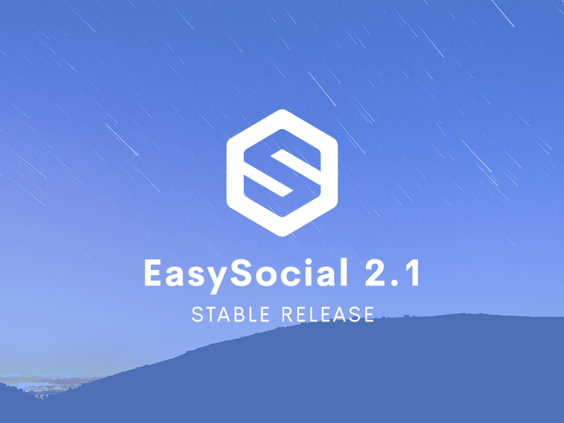 EasySocial 2.1 Available Now