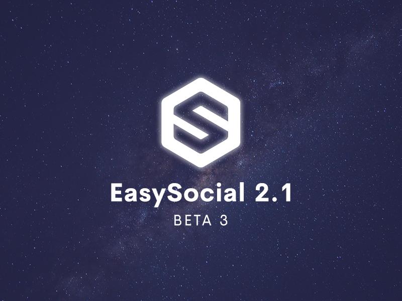 EasySocial 2.1 Beta 3