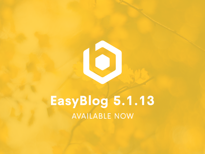 EasyBlog 5.1.13 & EasySocial 2.1 RC2 Released
