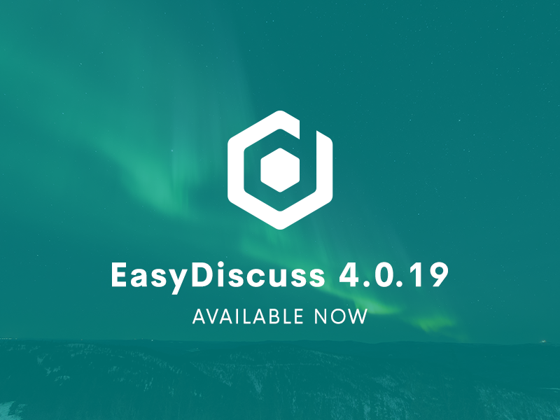 EasyDiscuss 4.0.19 Updates