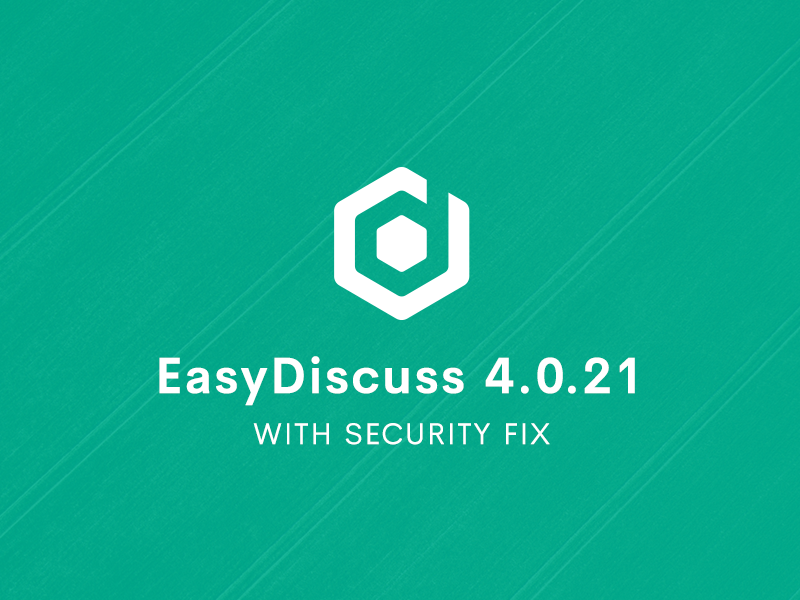 EasyDiscuss 4.0.21 Update