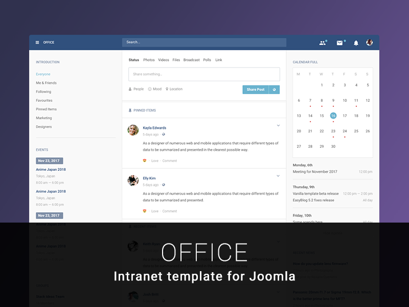 Office Template Released