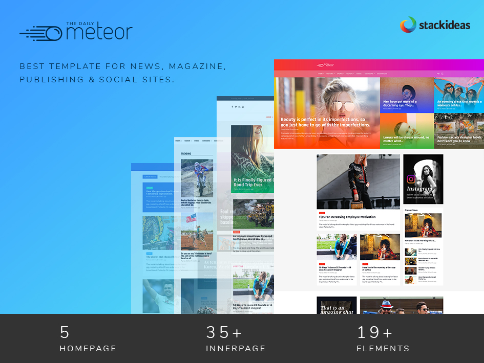 ThemeXpert's Meteor Template For EasySocial & EasyArticles