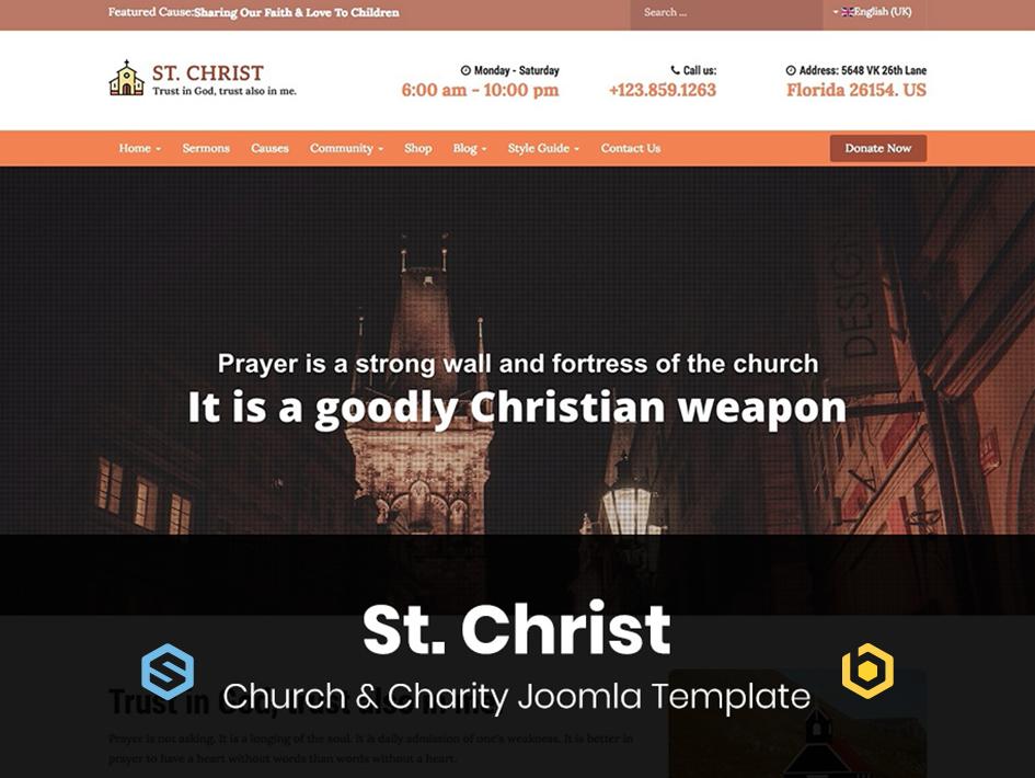 TZ St. Christ Template for EasySocial & EasyBlog