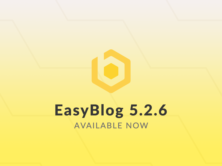 EasyBlog 5.2.6