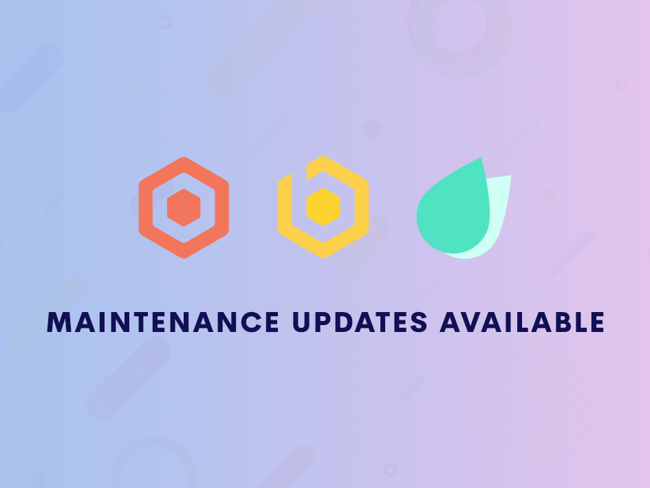 Maintenance Updates Available