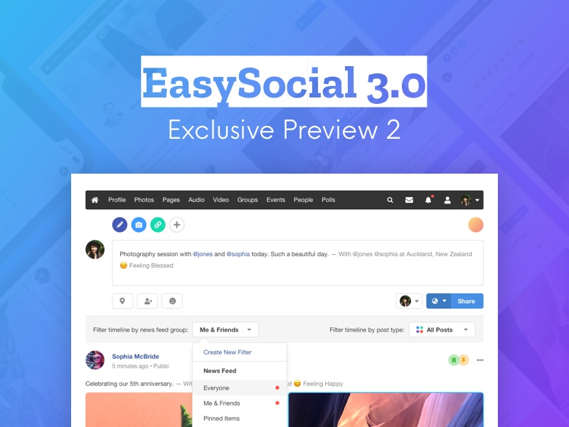 Additional Updates for EasySocial 3.0