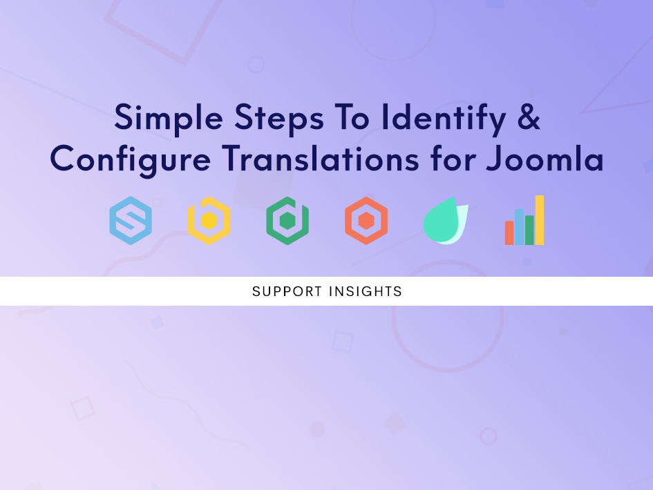 Simple steps to identify and configure translations for Joomla