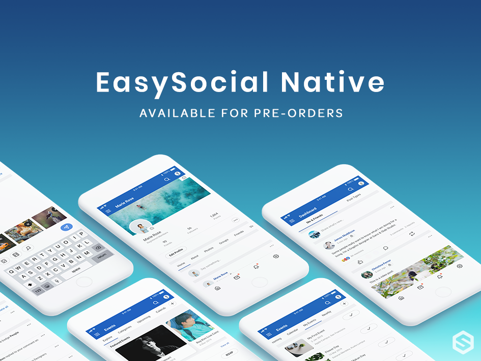 Pre-orders for EasySocial Native App