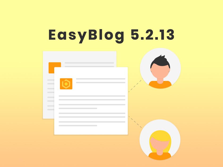 Maintenance update for EasyBlog 5.2.13