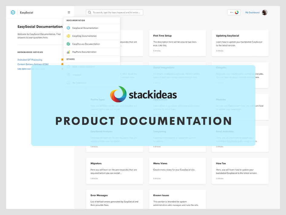 Say hello to our brand new online documentation