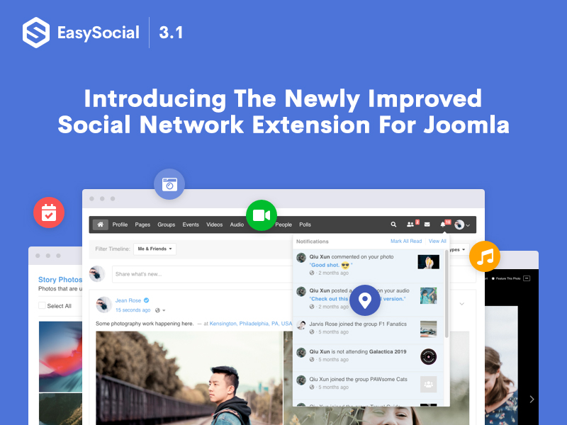 EasySocial 3.1 is available now