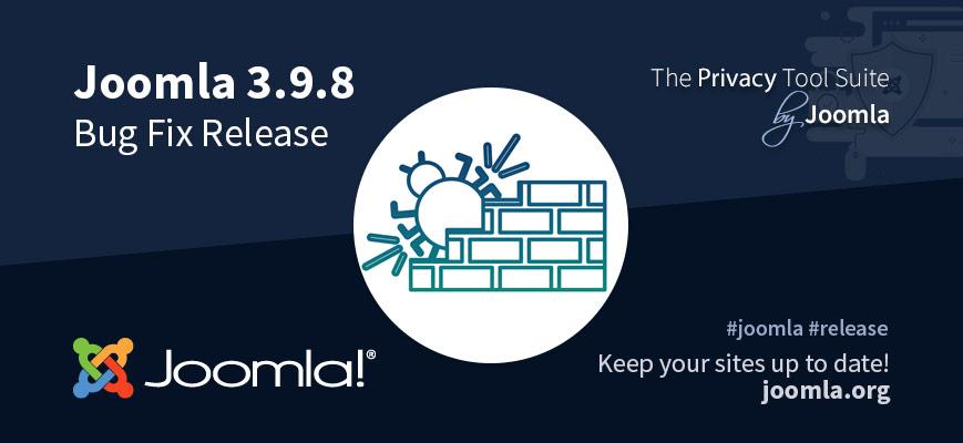 Joomla 3.9.8 Release