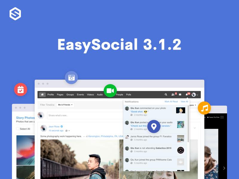 EasySocial 3.1.2 Update