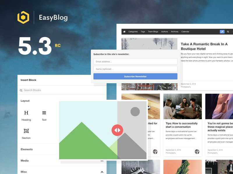 EasyBlog 5.3 RC Released