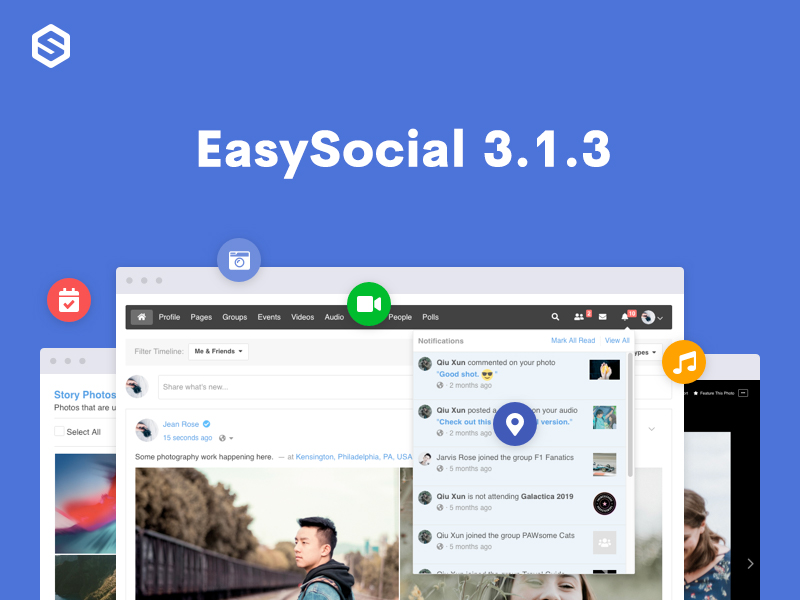 EasySocial 3.1.3 Update