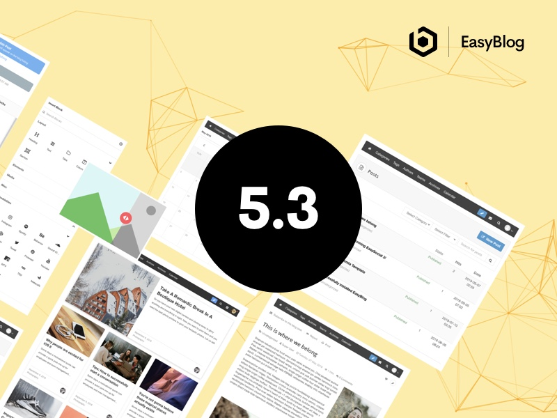 EasyBlog 5.3 Released
