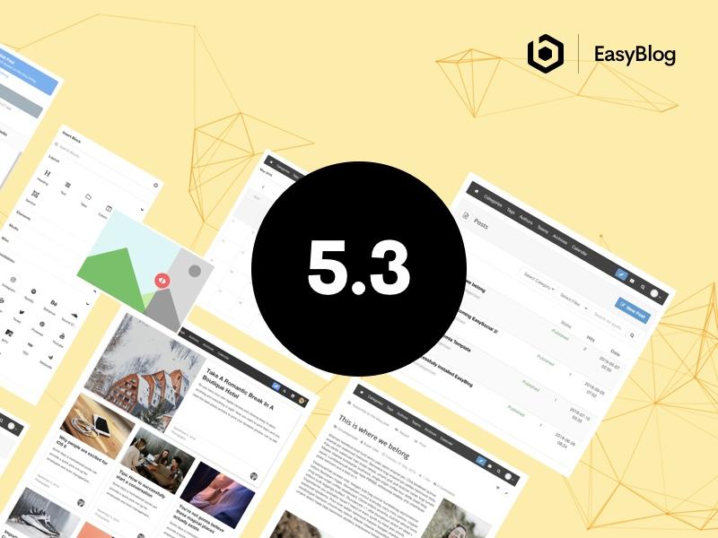 EasyBlog 5.3 Released