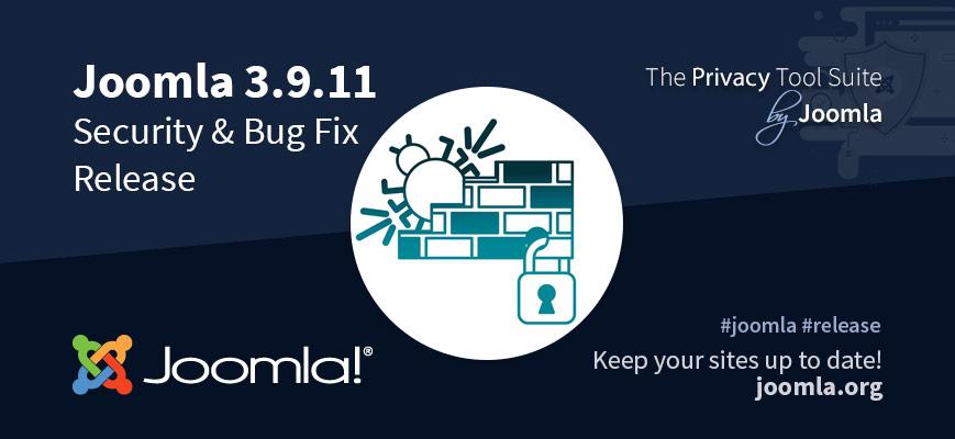 Joomla 3.9.11 Released